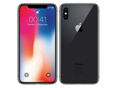 iPhone X- 64GB-space gray Used