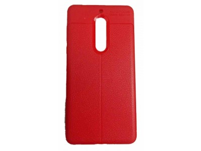 جراب ظهر احمر ضد الصدمات لهاتف نوكيا 5 - Nokia 5