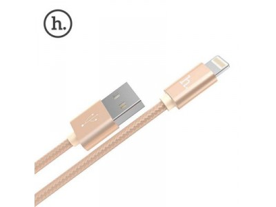 hoco charger cable for Apple-Gold