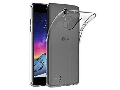 حافظة خلفية شفافة لحماية هاتف - LG K8 2017