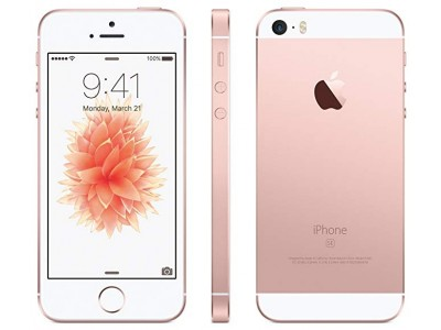 iPhone SE- 16GB-Rose Gold Used