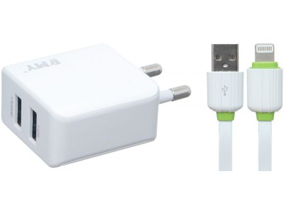 EMY Mobile Charger 2.4A my-226 For ios