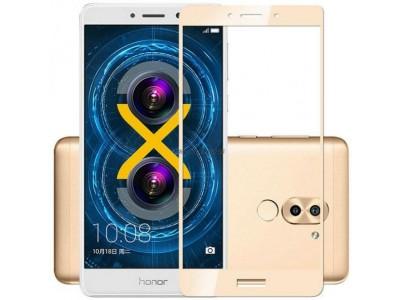 Huawei GR5 2017 Gold Full Glass Screen Protector