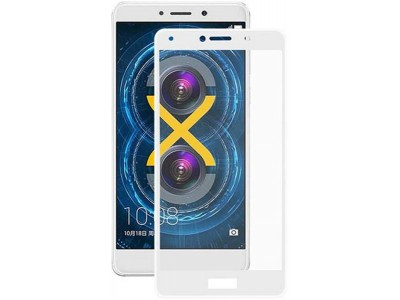 Huawei GR5 2017 White Full Glass Screen Protector