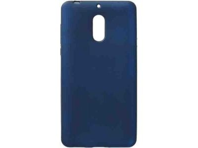 جراب ظهر مرن كحلي لهاتف نوكيا 6 - Nokia 6