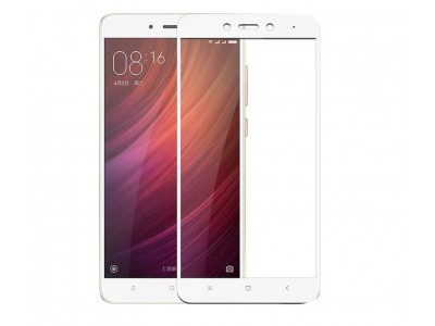 Lenovo K6 Note White Full Glass Screen Protector