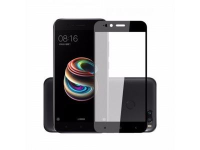 Xiaomi Mi A1 Full Glass Screen Protector Black