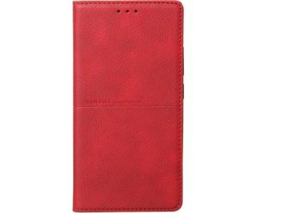 جراب جلد احمر لهاتف هواوي نوفا 5 تي - Huawei Nova 5T