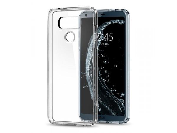 جراب ظهر شفاف مرن لهاتف - LG G6