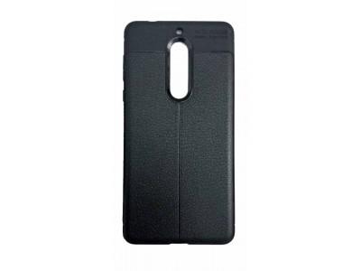 جراب ظهر اسود ضد الصدمات لهاتف نوكيا 5 - Nokia 5