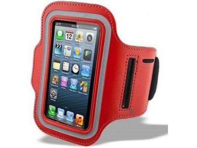 جراب كتف حامل هاتف على الذراع - احمر