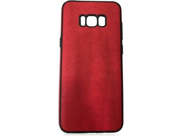 جراب ظهر احمر لهاتف سامسونج جلاكسى - S8 Plus