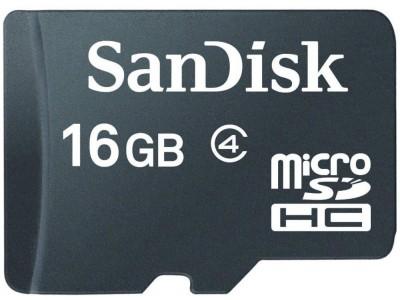 SanDisk 16 GB Class 4 MicroSD Memory Card