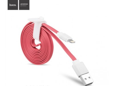 hoco charger cable for Apple-Pink
