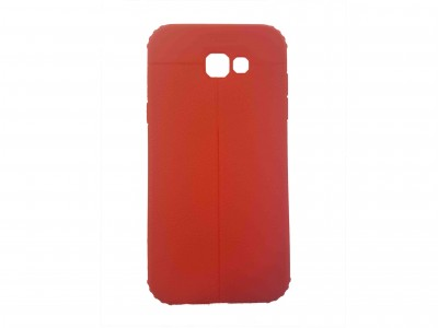 Red Auto Fox Back Cover A7 2017