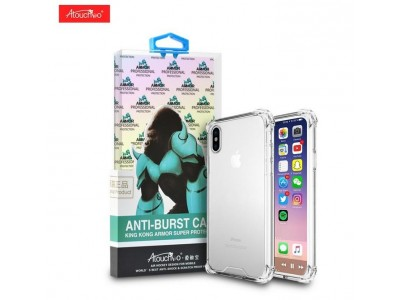 Back Cover For iPhone X King Kong Anti-Burst Super Protection Shockproof TPU Gel Case