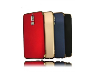 Slim Hard Back Cover Case With Gold frame for Huawei Mate 10 Lite