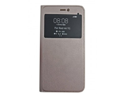 Flip Cover For Xiaomi Redmi Note 5A Prime Gold
