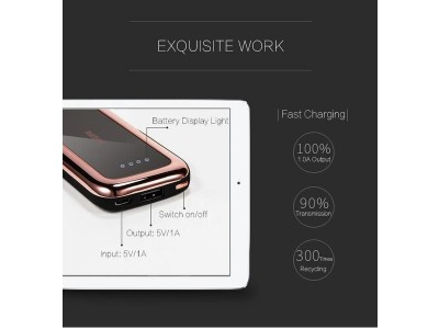 Remax Mirror 10000 MAH Rose Gold