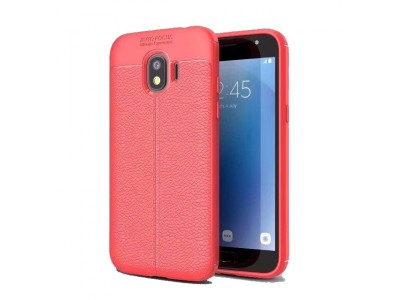Grand Prime Pro Auto Focus Back Cover- Red