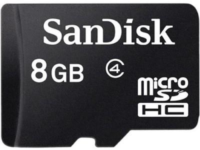 SanDisk 8 GB Class 4 MicroSD Memory Card