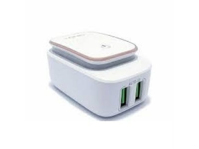 LDNIO LED Touch Lamp With 2USB Port Charger