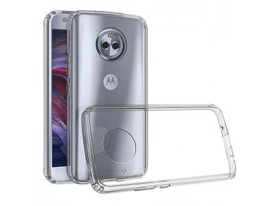 Motorola Moto X4 Back Cover Case - Transparent