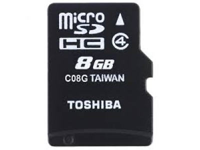 TOSHIBA 8 GB Memory Card