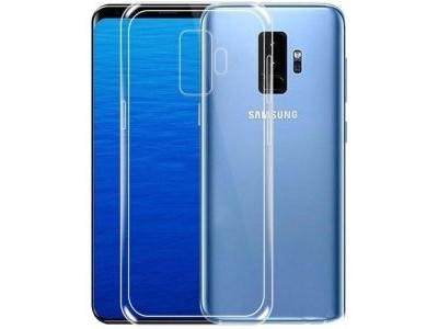 Back Cover For Samsung Galaxy S9 - Clear