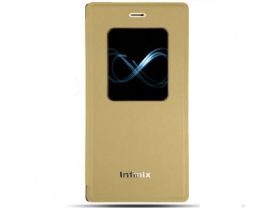 S View Cover For Infinix Note 4 X572 Gold