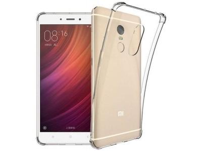 Xiaomi Redmi Note 4 & Note 4x anti shock TPU Cover - Clear