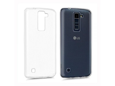 LG K8 Back Cover Case - Clear