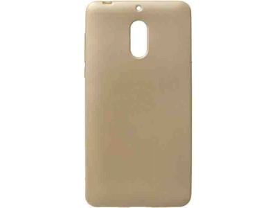 TPU Back Cover Case For Nokia 6 - Gold