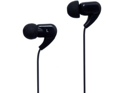 JOYROOM EL120 In-ear 3.5mm Wire HiFi Noise Cancelling Plastic Music Earphone with Mic - Black