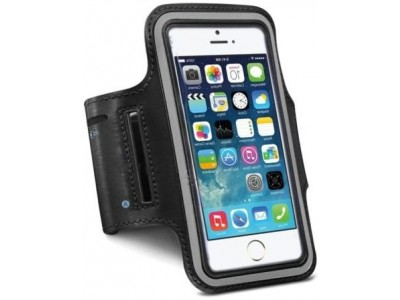 Cover With Holder On The Arm For 5.5 Inch-Black