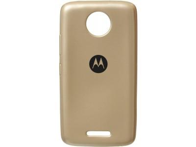 Motorola Moto C Plus Back Cover Case - gold