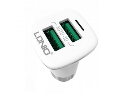 LDNIO C301 Micro USB Car Charger dual Port