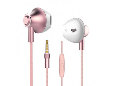Headset for Mobile Phone LANGSDOM M420 ROSE GOLD