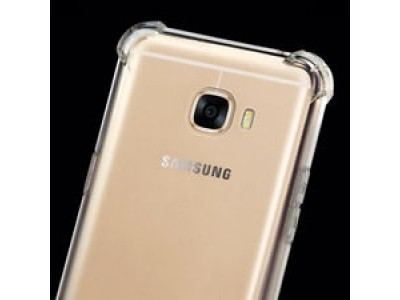 Galaxy J7 Max Armor Protection Case - transparent