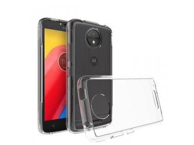 Tpu back cover case for Motorola moto c transparent
