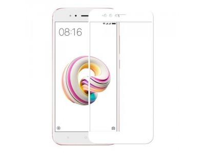 Xiaomi Mi A1 Full Glass Screen Protector White