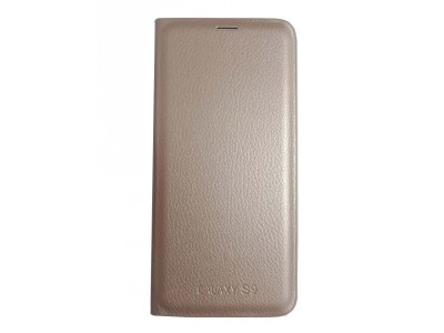 Flip Cover Gold for Samsung S9