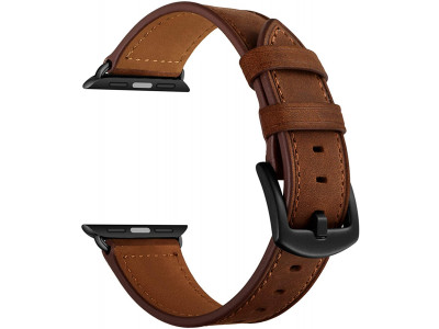Apple Watch 44mm Leather Strap