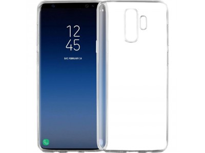 Back Cover For Samsung Galaxy S9 Plus - Clear
