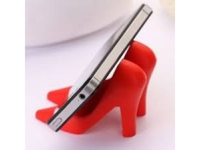 creative high heels mobile phone stent