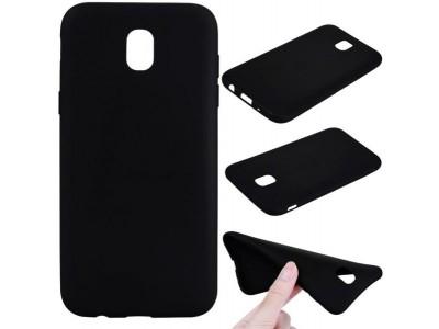 Samsung Galaxy j7 Pro Ultrathin TPU  Cover - Black