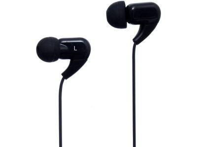 JOYROOM EL120 In-ear 3.5mm Wire HiFi Noise Cancelling Plastic Music Earphone with Mic - Black