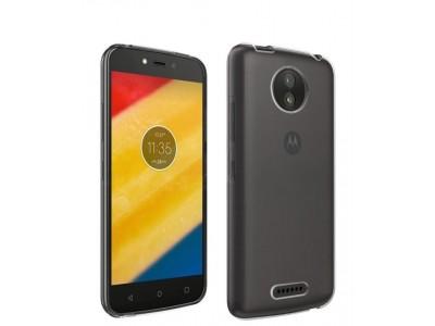 Motorola Moto C Plus TPU Cover - Clear
