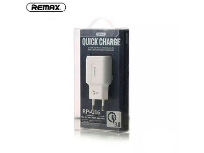 Remax RP-U16 Quick Charge Adapter