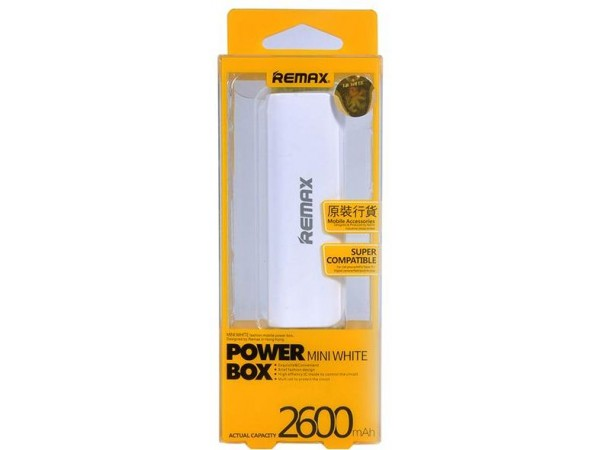 Power Bank 2600mah Remax